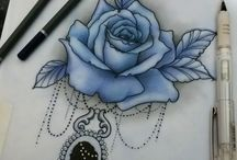 tattoo flor