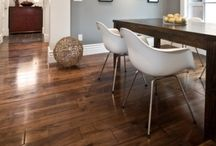 Brown Hardwood Floors / Flooring