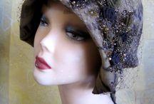 designer hat Alina Yo  in retro stail