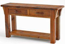 Indoor wood rack