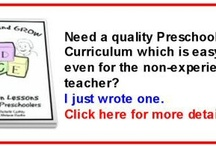 Preschool at home!! / by Jackie McDermott