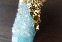 Beautiful druzy jewelry