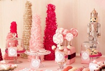 Pink, Champagne Inspiration / Pink & Champagne  Desserts Favors Props