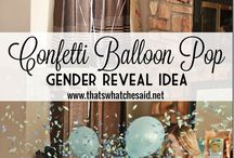gender reveal party / by Lindsey Johnson
