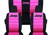 J E E P  W R A N G L E R / Jeep Wrangler black and pink