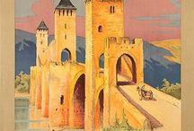France, Lot Valley, Tarn etc