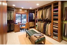 Mi Casa-Walk-In / Planning on creating a walk-in closet and here are some ideas I like. / by Meli Mel