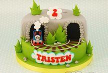 Birthday cake Tomas