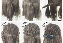 Engagement shoot hairstyles