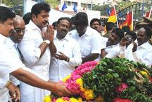 AISMK Party members paid floral tribute to Babasaheb Ambedkar