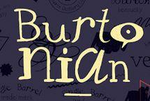 YWFT Burtonian Font Download