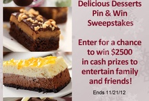 Kraft Delicious Desserts Recipes Pin and Win / by annstiptoes