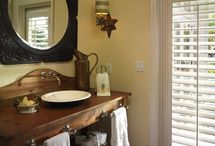 Country bathroom ideas / by Jacqueline Thomas