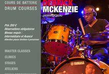 DERRICK McKENZIE 2 / Tuesday, November 28th, 2017 in Paris at Drumming Lab - 9 rue de L'Éperon - DERRICK McKENZIE's atelier!!!