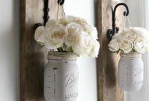 Mason jar/bottle craft