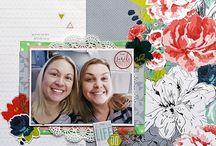 My Scrap the Girls Design Team Creations