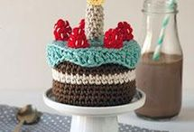Cupkakes and other cakes crochet