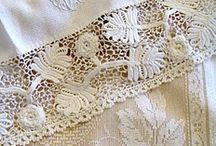 LINENS, LACE AND EMBROIDERY