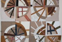Modern Curves and Circular Quilts and Quilting
