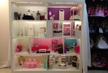 Barbie doll house ideas