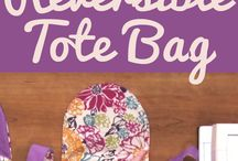 tutorial for reversable tote bag