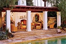 Spanish Revival Outdoor Areas