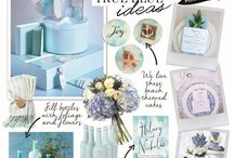 Something Blue Wedding Ideas / Stuck for your something blue? We've got lots of gorgeous blue ideas for you