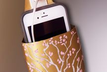 diy charging station recycled