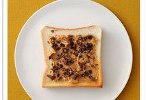 Oct 2016 / Everyday Toast ! / 【10月のトーストカレンダー】毎日トースト!