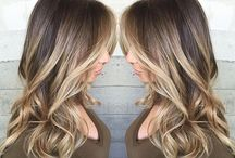 Dark Balayage & Ombre