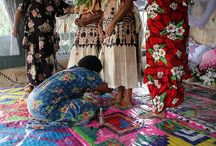 Polynesian wedding attire / Fijian,Tongan,Samoan traditional clothing