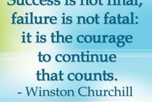 Winston Churchill Quotes / by Song of My Heart Stampers
