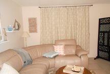 New beachy living room / Make over for an apartment / by Shelly Brantner Stevens