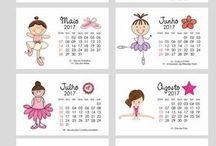 calendario/ escola