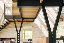 H beam house