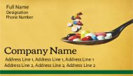 Medical shop visiting cards printing online / Medial Shops serve the person to get well by providing medicines, which is good, but needs customer relations
