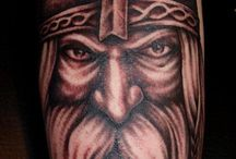 Viking Tattoos / If you desire a tattoo based on Viking heritage, then you have two paths to follow. You can follow the mythical one or the authentic one. If you want to maintain your design as authentic, then you should avoid having a Viking warrior placed on you in a horned helmet. Vikings never had any horned helmets. When choosing their weapons and armors, they were very practical.