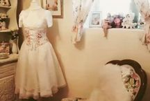 Our Maison de Couture / Get a view inside our shabby rooms and showrooms