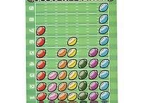 Math-Football activities  / by Melanie Fields