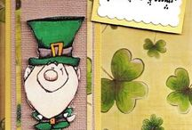 St. Patrick's Day Card Samples / Hand Made Cards