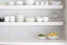 Parkhurst home / Kitchen shelves