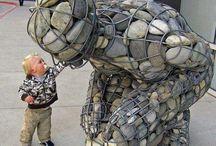Kunst / Billedkunst,skulptur,tekstil o.l