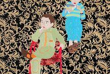 Art on textile / Www