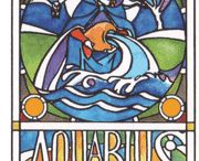 ☼ AQUARIUS / To be an Aquarian is to have impeccable, almost infallible judgement. It is to know, instantly, the right answer to any question and to see, immediately, the best way to proceed with any plan. It is also though, to be viewed with suspicion by those who do not possess such clarity. All you ever need, to be successful, is to act on your insights.