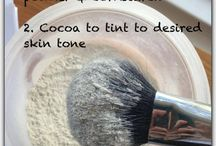 Diy cosmetics and home solutions