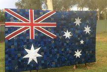 Quilts----Australia Theme