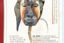 African art sketchbooks / One way to get closer to African art is by drawing it. It's a way to get into the original (and usually unknown) artist's mind and to appreciate his genius...