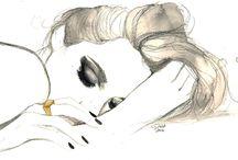 Модная Иллюстрация Лицо