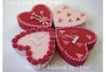 3D quilling about heart boxes