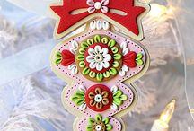 clay ornaments